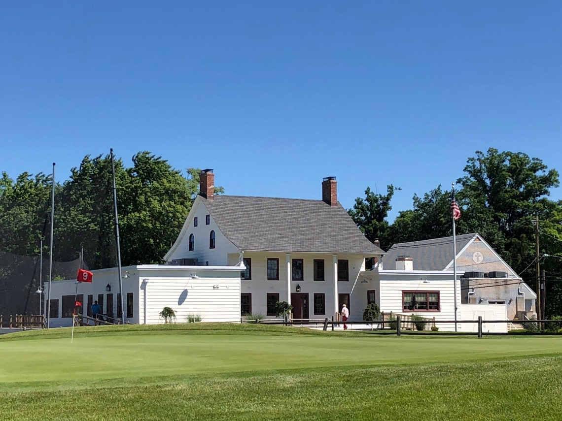 The old Shady Rest Golf and Country Club clubhouse